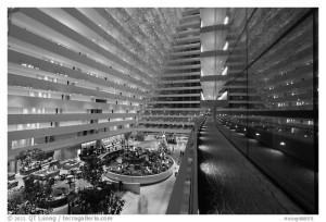Inside Marina Bay Sands hotel. Singapore
